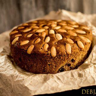%Dundee Cake
