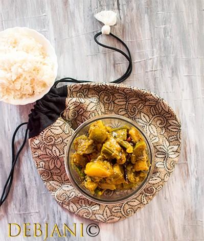 Panch Mishali Tarkari, a Bongo-fied Mix-veg! Panch Mishali Torkari Recipe