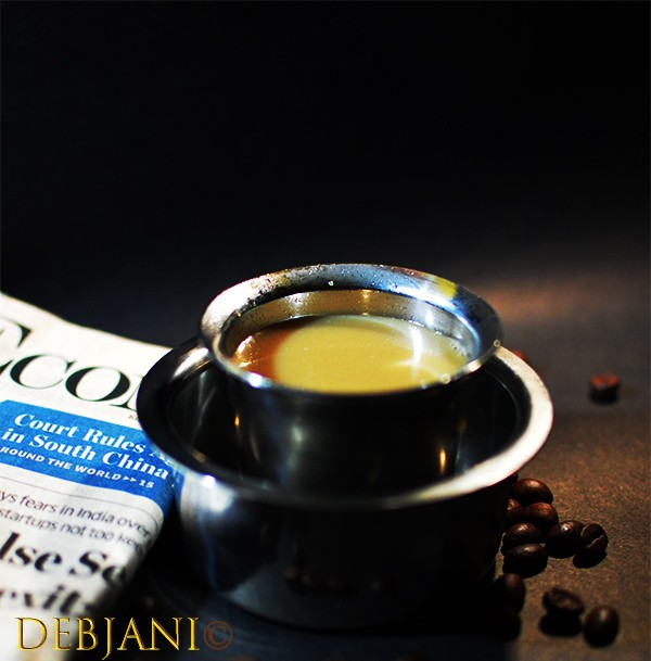 %South Indian Filter Coffee