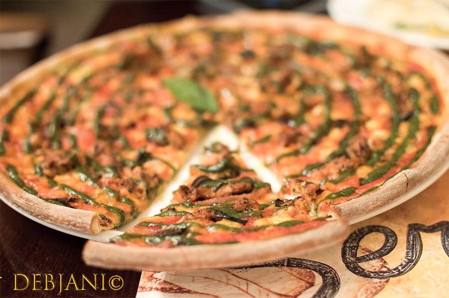 %Pizza