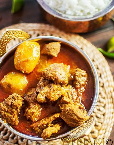 %Debjanir Rannaghar Pork Curry