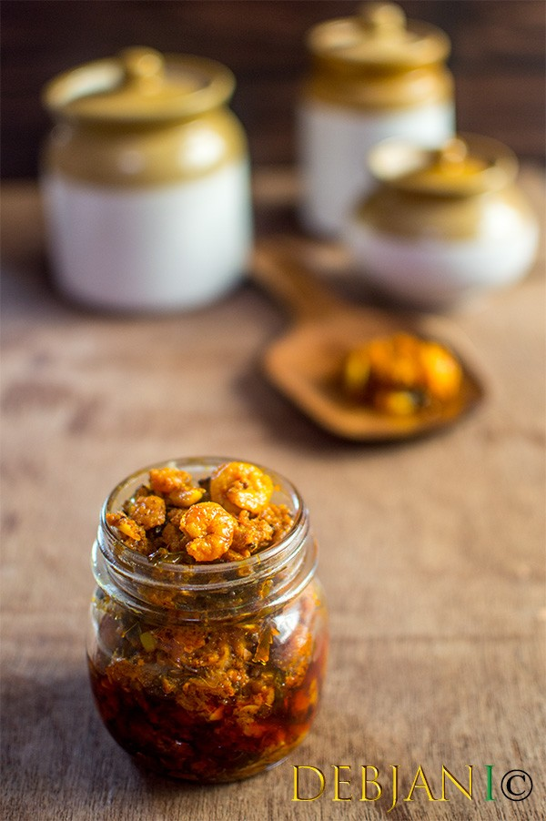%Kerala Style Prawn Pickle