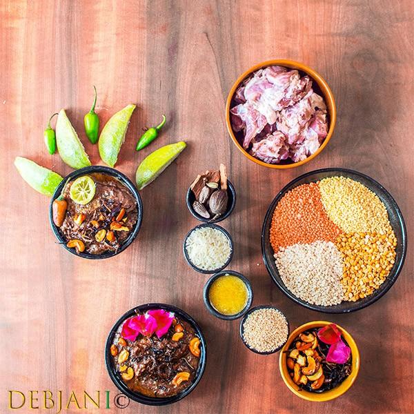 %Debjanir Rannaghar Hyderabadi Haleem