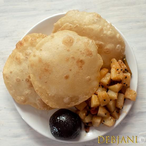 Luchi! Not just a type of flatbread but….