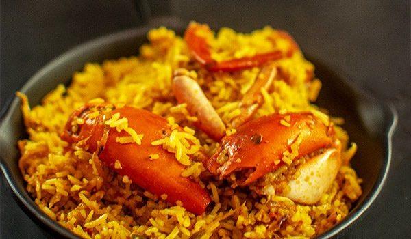 Crab Biryani | Crab Dum Biryani | Nandu Biryani