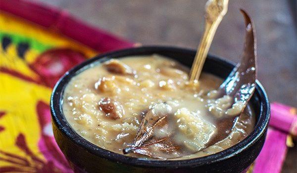 Chaler Payesh aka Bengali Rice Kheer