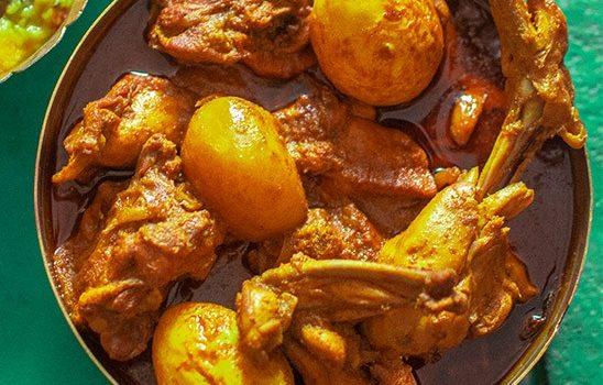 Dak Bungalow Chicken Curry aka Chicken Dak Bungalow