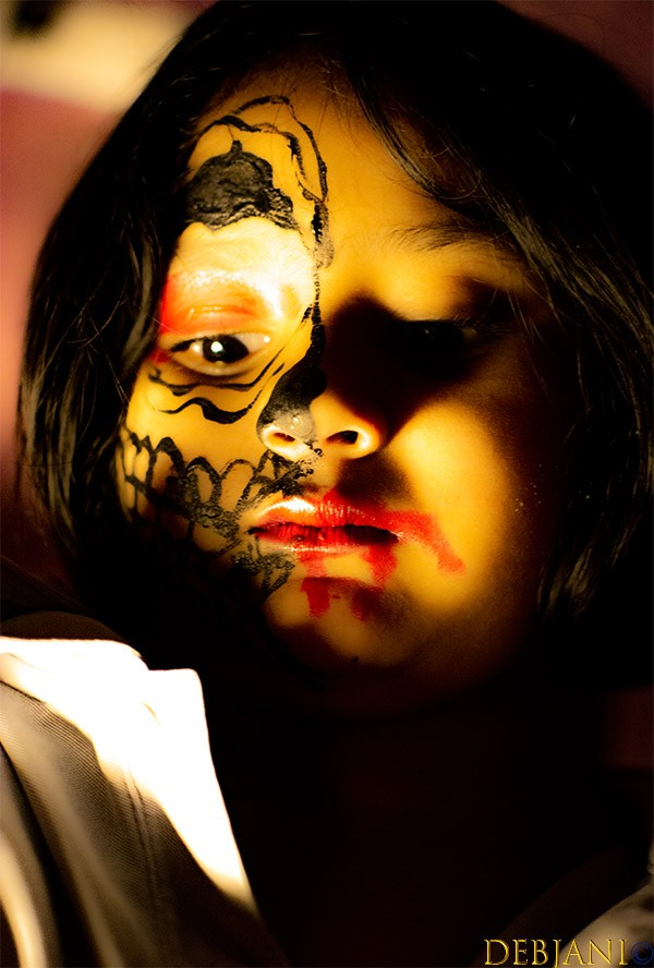 %Halloween Makeup