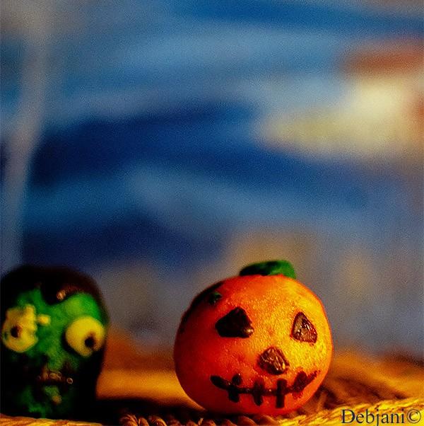 %Halloween Pumpkin Cake Pop