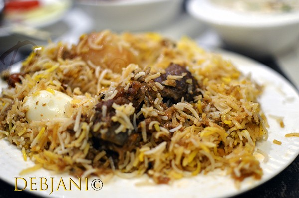 %India Restaurant Biryani