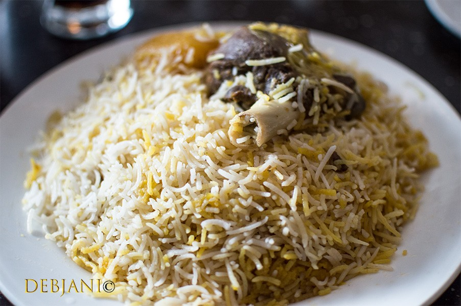 Kolkata Biryani or Biryani in Kolkata! Best places for Biryani in Kolkata…..