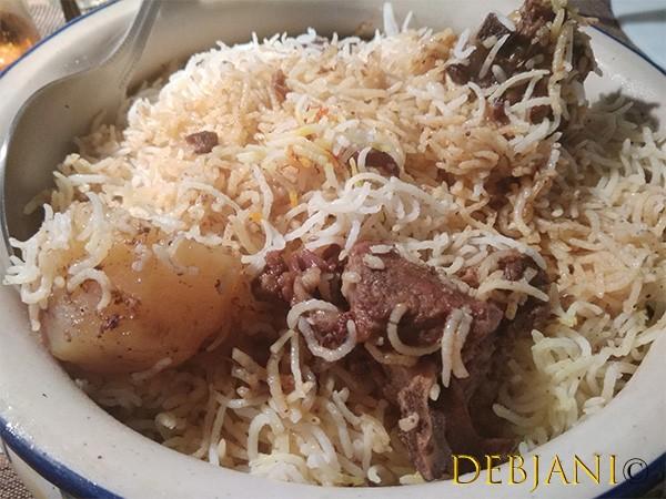 %Manzilat's Kalkatta Shahi Biryani