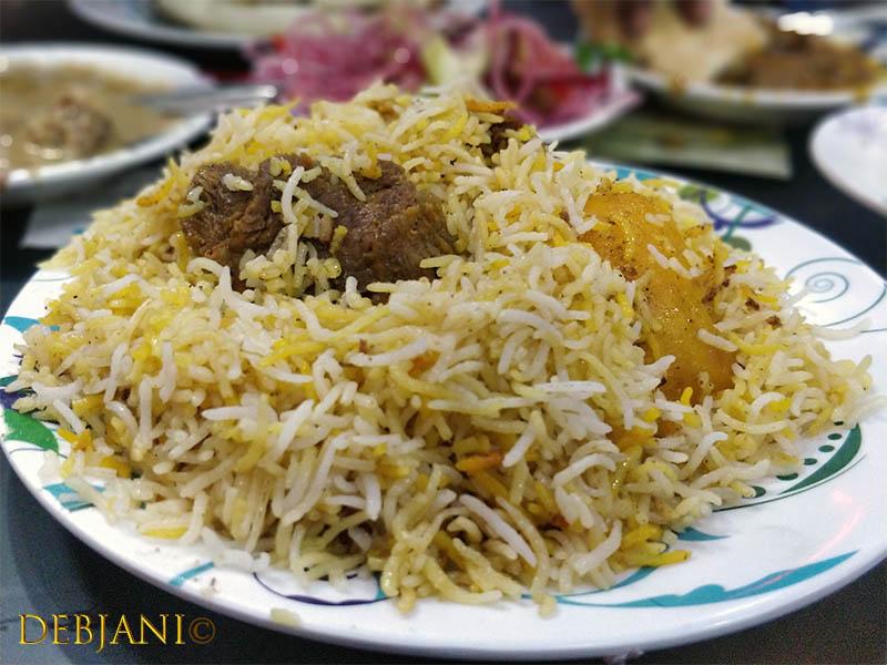 %Zam Zam Restaurant Beef Biryani