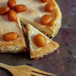 %Mishti Doi Cheesecake
