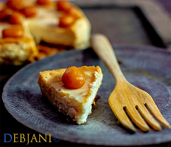 %Soan Papdi and Mishti Doi Cheesecake