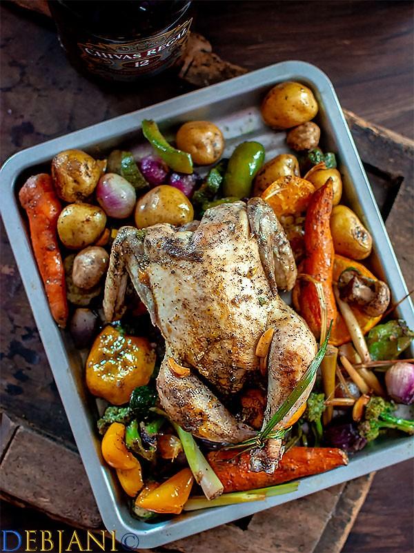 %Roasted Chicken