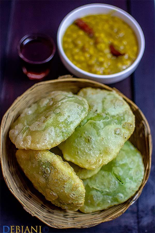 %Bengali Matar Kachauri