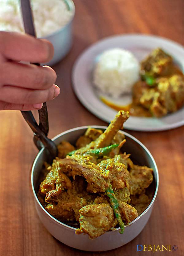 %Kancha Lonka Murgi Recipe