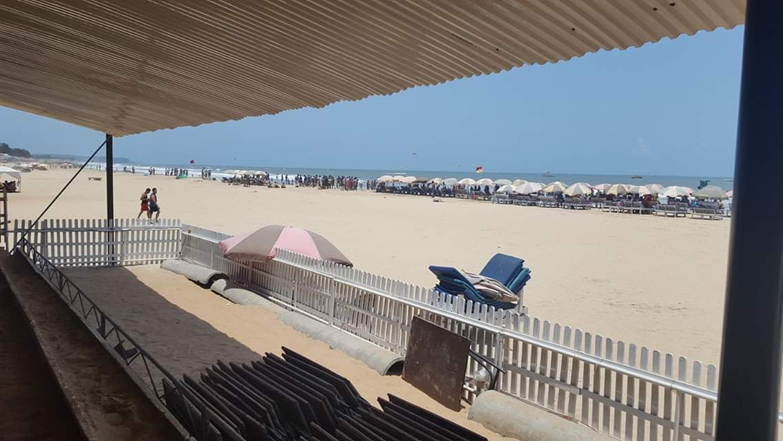 %Beach in Goa