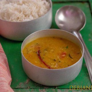 %Pyaz Diye Masoor Dal Recipe
