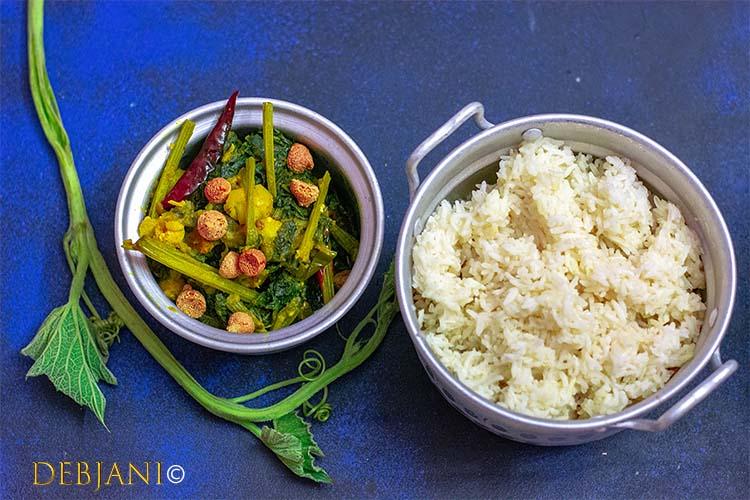 %Bengali Lau Shaker Chorchori