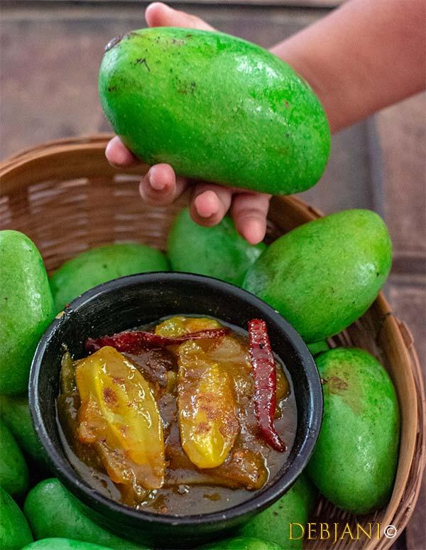 %Green Mango Chutney