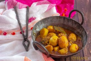 %Bengali Dimer Dalna Recipe