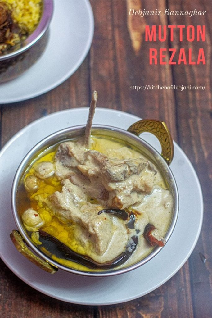 %Kolkata Mutton Rezala Pinterest