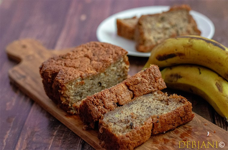 %Whole Wheat Banana Bread Recipe