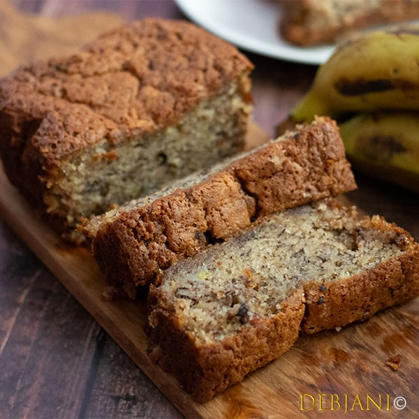 %Whole Wheat Banana Bread