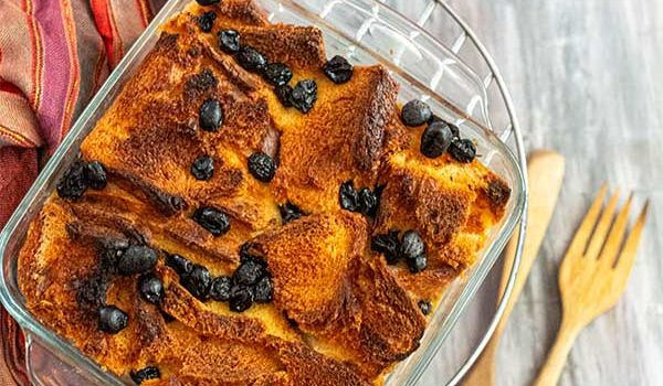 Anglo-Indian Bread and Butter Pudding