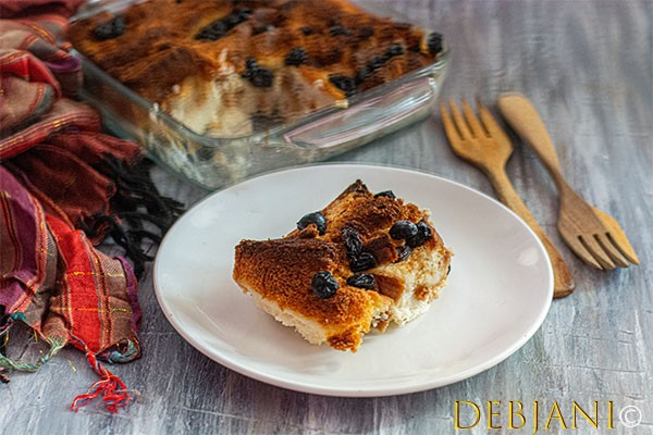 %Bread and Butter Pudding debjanir Rannaghar