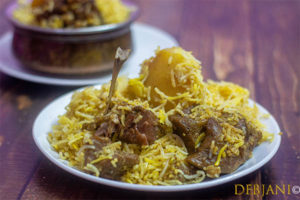 %Kolkata Mutton Biryani Debjanir Rannaghar