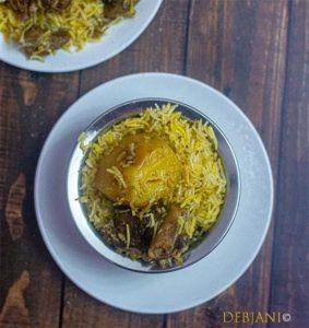 %Kolkata Mutton Biryani Recipe