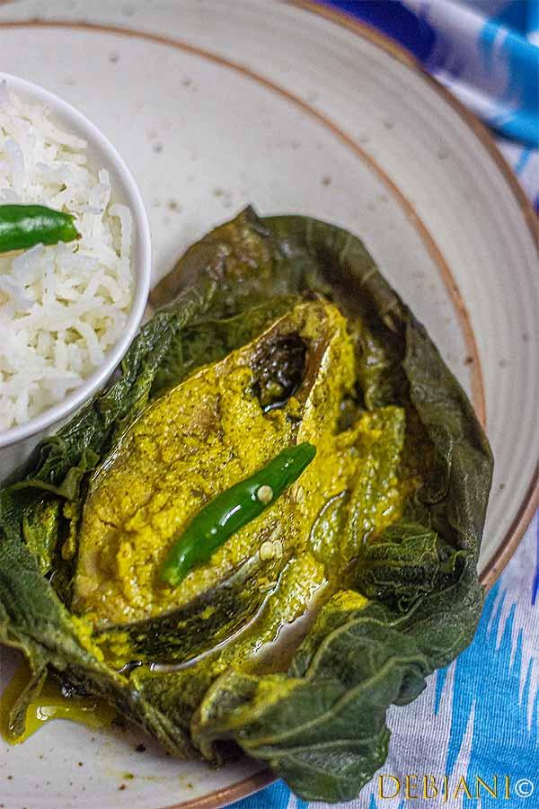 %Lau Patay Ilish Paturi Recipe