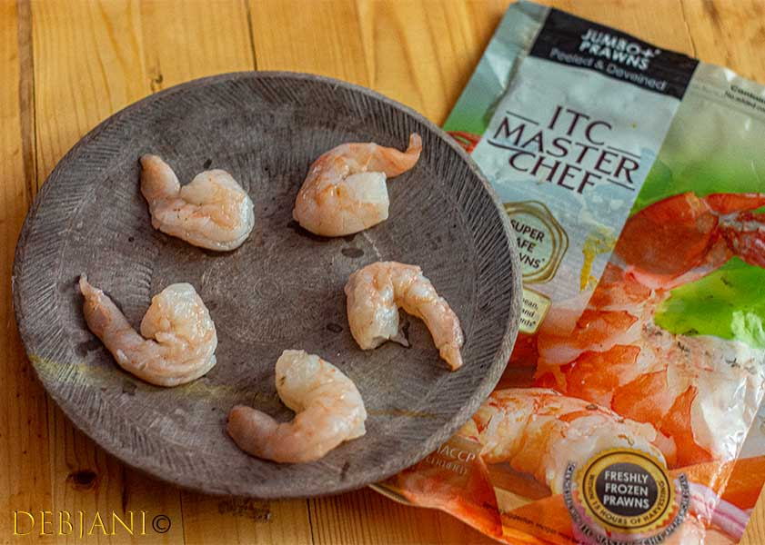 %ITC Master Chef Frozen Prawns