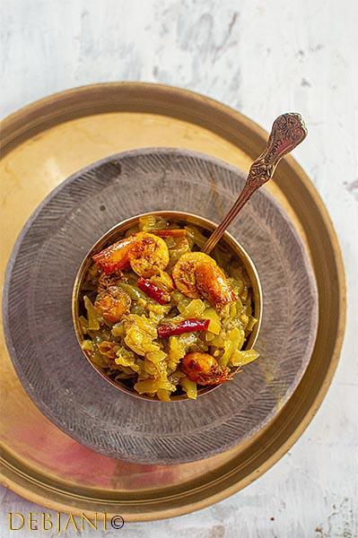 %Lau Chingri Recipe