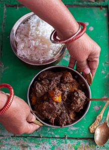 %Mutton Liver side dish Mete Chorchori Recipe