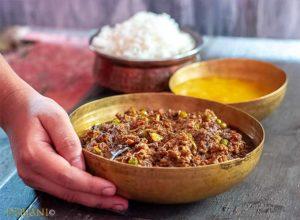 %Food Photography Keema Matar