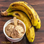 %Banana Peanut butter Ice cream