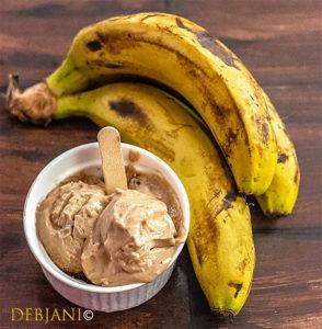 %Banana Peanut butter Ice cream