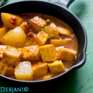 %Bengali Paneer curry recipe