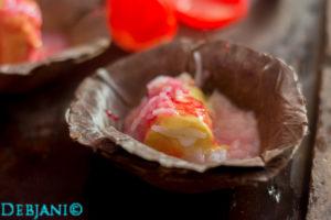 %Indian ice cream kulfi