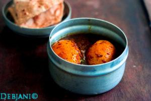 %Chettinad Egg Curry Recipe Debjanir Rannaghar
