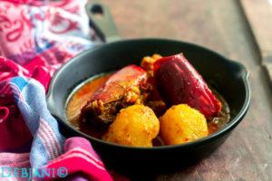 %Chingri macher Mathar Kalia recipe