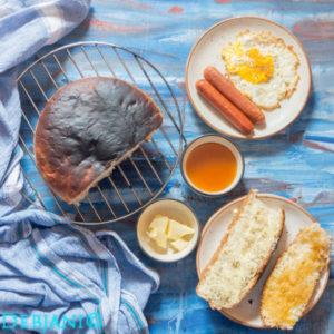%Homemade White bread