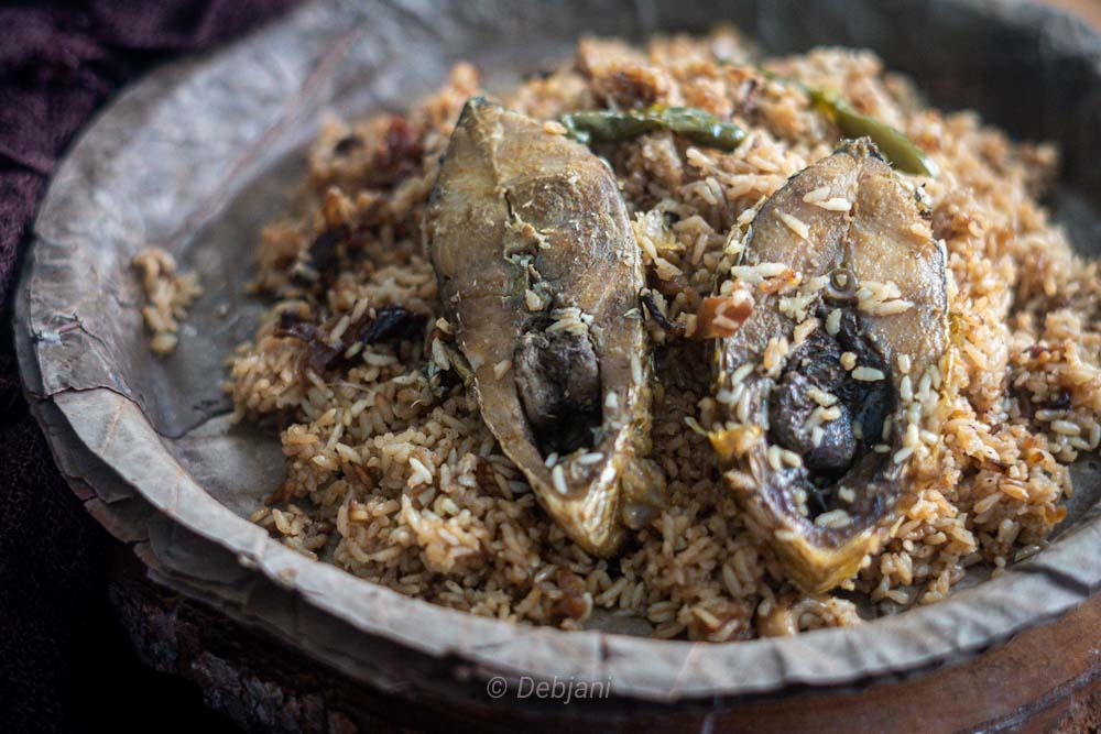 %Bangladeshi Ilish Pulao recipe