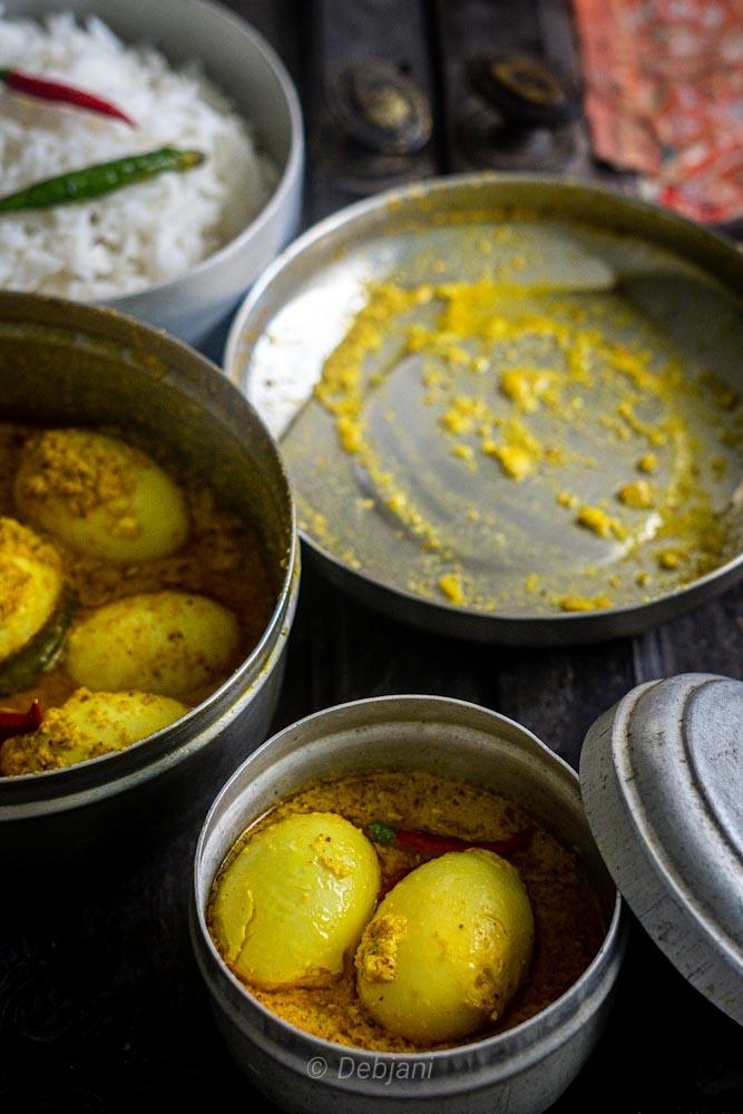 %Haas er Dim bhapa Recipe Debjanir Rannaghar