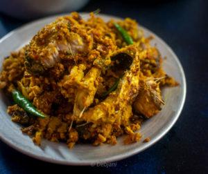 %Ilish Mach er Dim Bhuna recipe Debjanir Rannaghar