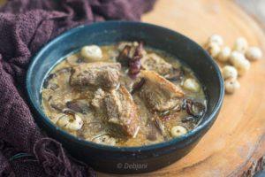 %Pork Rezala Recipe